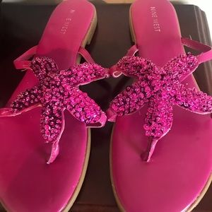 Nine West Starfish Sandals, 7 1/2M